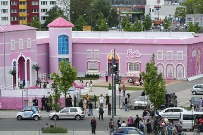 La casa de los sueños de Barbie