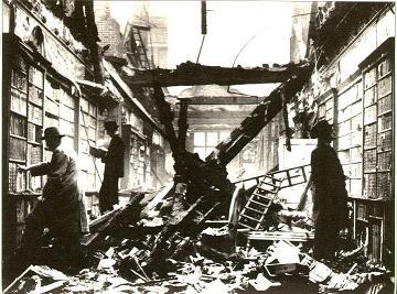 Tras el bombardeo alemán