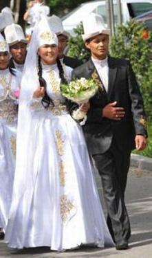 El secuestro de la novia en Kirguistán