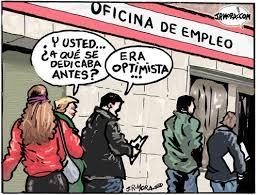 En la oficina de desempleo