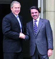 El caso de mister Aznar, el amigo de Bush